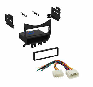 Single Din Car Radio Stereo Dash Kit Wire Harness For 2003 2007 Honda Accord