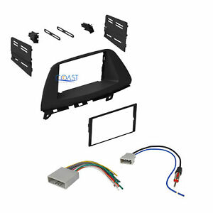 Single Double Din Car Dash Kit W Antenna Harness For 2008 2010 Honda Odyssey