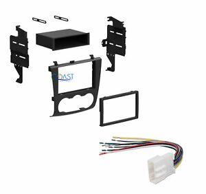 Single Double Din Install Stereo Dash Kit W Harness For 2007 2011 Nissan Altima