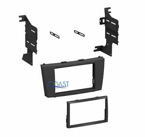 Single Double Din Installation Stereo Dash Kit For 2007 2011 Toyota Camry