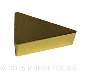 Rishet Tools Tpg 432 C5 Multi Layer Tin Coated Carbide Inserts 10 Pcs