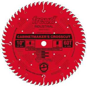 10 X 60t Atb Carbide Cabinet Maker Circular Saw Blade Freud Lu73r010 New