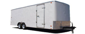 24 Ft Enclosed Look 10 000 Lb Gvw Cargo Trailer 2017 6199