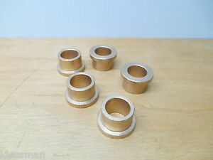5 Quality Bronze Plain Flange Bushing 1 Od 3 4 Id 3 4 L 1 1 4 Shoulder