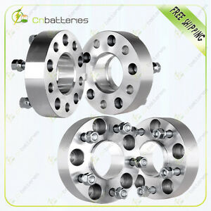 4x 1 5 5x4 75 Hubcentric Wheel Spacers For Chevy S10 Blazer Cadillac Gmc Jimmy