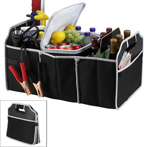 Portable Collapsible Folding Trunk Organizer For Cars Suv Trucks Ships From Nyc
