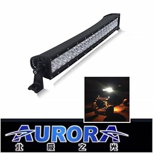 30 Aurora Off road Led Light Bar Curved Combo Beam 300w Utv atv