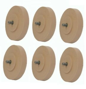 Astro Pneumatic 400e Rubber Eraser Wheel Pad For Pinstripe Removal 6 Pack