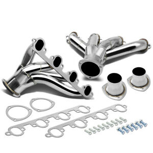 For 429 460 Ford Small Block Hugger Shorty Stainless Steel Exhaust Racing Header