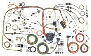 1970 74 Barracuda Challenger Classic Update Wiring Harness Complete Kit 510289