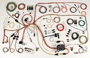 1965 Ford Falcon Classic Update Wiring Harness Complete Kit 510386
