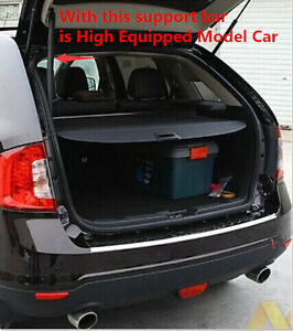 Trunk Shade Black Cargo Cover For Ford Edge 2011 2012 2013 High Equipped Model