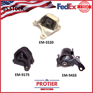 Motor Trans Mount Kit For 2002 2006 Acura Rsx Type S 2 0l Manual Trans