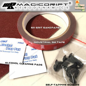 3m Double Sided Tape Adhesive Automotive Mounting Screws Installation Kit