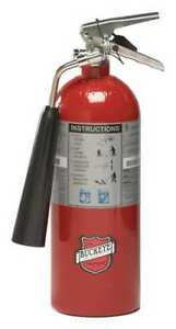 Fire Extinguisher 5b c 5lb Carbon Dioxide