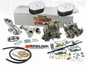 Weber Carburetor Kit Vw Bug Type 1 Dual 48 Idf Weber Tuned For Vw Air Cooled