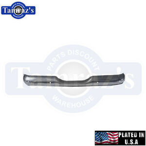 55 66 Chevy Stepside Pick Up Rear Bumper Usa Plated New