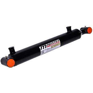 Hydraulic Cylinder Welded Double Acting 1 5 Bore 10 Stroke Cross Tube 1 5x10