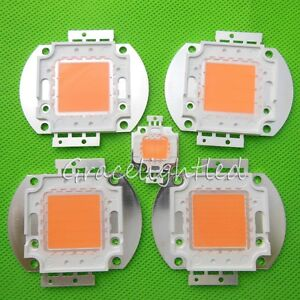10w 20w 50w 100w Full Spectrum Led Grow Chip 400nm 840nm For Mj Plant Grow bloom