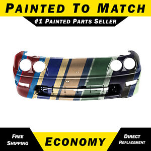 New Painted To Match Front Bumper Cover Fascia For 1998 2001 Acura Integra