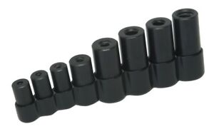 Lisle Tools 70500 8 Piece Tap Socket Set For All Mcti Taps Thru 1 2