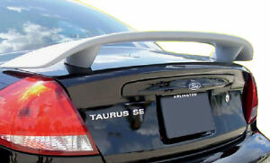 Fits 2000 2006 Ford Taurus Custom Style Spoiler Wing Primer Un painted New