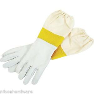 Little Giant Large Goatskin Beekeeping Beekeeper Apparel Gloves Glvlg