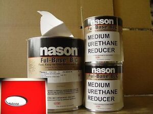 Dupont nason Corvette Torch Red Basecoat Clearcoat Auto Body Restoration Paint
