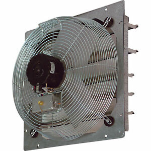 Tpi Shutter mounted Direct Drive Exhaust Fan 12in ce12 ds