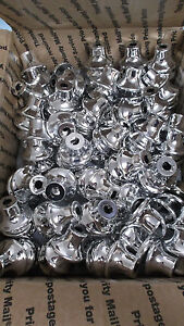 1 Tall Trophy Small Metal Bells 245pcs Silver Finish Trophy Parts