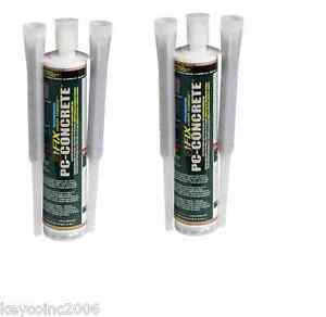 2 Pack Pc Products Pc concrete Two part Epoxy Adhesive Paste
