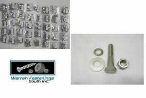 334pc 18 8 Stainless Steel Coarse Thread Hex Bolt Nut And Washer Assortment