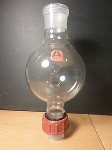 Aldrich Glass 1000ml 1l Threaded Joints Chromatography Solvent Reservoir 45 40