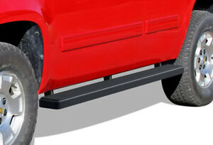 Iboard Running Board 5in Black Fit 00 20 Chevy Tahoe Gmc Yukon Cadillac Escalade