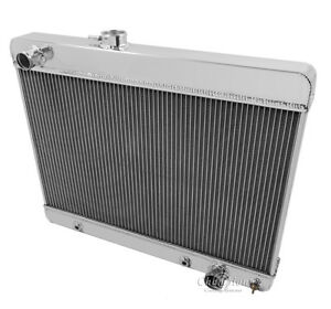 1965 1966 1967 Pontiac Lemans Tempest Gto Champion 3 Row Rs Radiator
