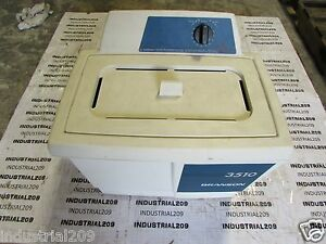 Branson 3510r mt Bransonic Ultrasonic Cleaner Used