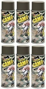 Performix Plasti Dip 11217 Green Camo Rubber Spray 6 Pack