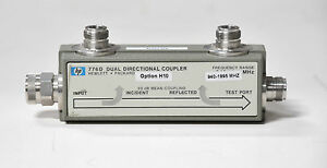 Hp Agilent Keysight 776d Dual Directional Coupler H10 940 1995mhz 30d Warranty