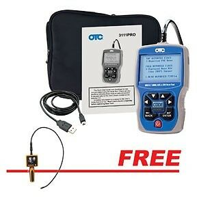 Otc Trilingual Scan Tool Obdii can abs Airbag W free Video Inspection Camera