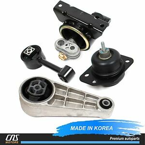 Engine Mount Transmission Mount Set For 04 10 Suzuki Forenza Reno Chevy Optra