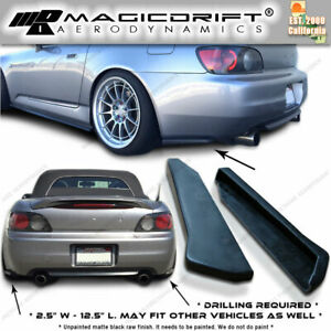 99 03 Honda S2000 Ap1 Cs Bottom Line Style Rear Side Lip Aprons Valences Spats
