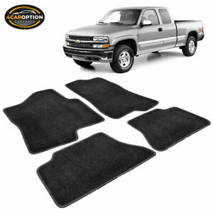 Fit 00 06 Chevy Suburban Tahoe 00 07 Chevy Silverado Floor Mats Front Rear 4pc