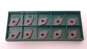 New World Products Dnma 432 Cb1 Cbn Tipped Carbide Inserts 10pcs Dnmg 432