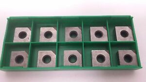 New World Products Snma 432 Cb2 Cbn Tipped Carbide Inserts 10pcs Snga 432