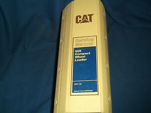 Cat Caterpillar 908 Compact Wheel Loader Service Shop Repair Book Manual 8bs1 up