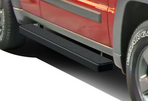 Iboard Running Boards 5 Matte Black Fit 08 13 Jeep Liberty