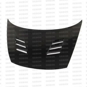 Seibon 06 11 Civic 4d Carbon Fiber Hood Tm Fa