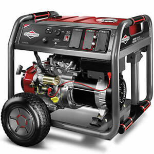 Briggs Stratton 30664 8000 Watt Electric Start Portable Generator W 4