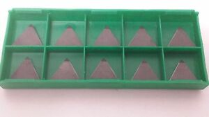 New World Products Tpg 322 Cb1 Cbn Tipped Carbide Inserts 10pcs Tpg 322