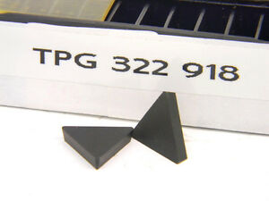 12 New Surplus Rtw Tpg 322 918 Carbide Inserts